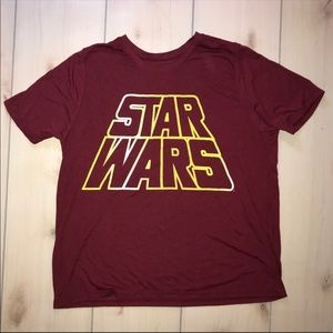 Star Wars T-shirt maroon xl
